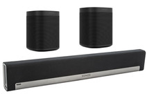 Sonos Playbar 5.0 + One (x2) Black