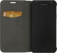 Azuri Booklet Ultra Thin Samsung Galaxy J3 (2017) Book Case Zwart