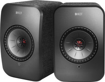 KEF LSX wireless stereo system Black