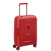 Delsey Moncey Slim Cabin Size Trolley 55cm Red
