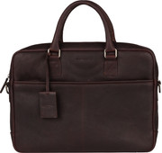 Burkely Antique Avery Laptop Bag 15 inches Brown