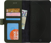 Decoded Leather Wallet Apple iPhone 6 Plus/6s Plus/7 Plus/8 Plus Book Case Groen