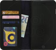 Decoded Leather Wallet Apple iPhone 6 Plus/6s Plus/7 Plus/8 Plus Book Case Zwart