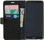 Azuri Coque à Rabat Portefeuille Magnétique Huawei P Smart Noir