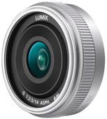 Panasonic Lumix G 14 mm f/2.5 II ASPH. Argent