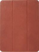 Decoded Slim Cover en cuir 12,9'' Book Case iPad Pro (2018) Marron