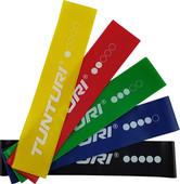 Tunturi Mini Set de bandes de résistance 5 pièces