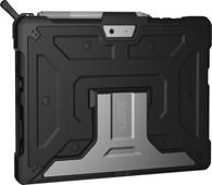 UAG Metropolis Microsoft Surface Go Book Case Zwart