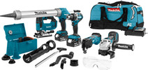 Makita combi set DLX5040TX1