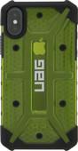 UAG Plasma Citron iPhone X  Back Cover Groen