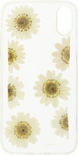 FLAVR iPlate Real Flower Daisy iPhone X Back cover