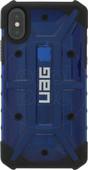 UAG Plasma Cobalt iPhone X Back Cover Blauw