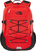 The North Face Classic Borealis Fiery Red / TNF Black