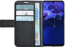 Azuri Wallet Book case Magnétique Huawei P Smart (2019) Noir