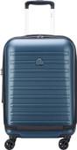 Delsey Segur 2.0 Valise à 4 roulettes Poche avant business 55 cm Bleu