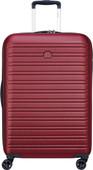 Delsey Segur 2.0 Valise à 4 roulettes 55 cm Red