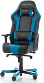 DXRacer KING Gaming Chair Zwart/Blauw