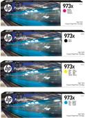 HP 973X Pack combiné de cartouches 4 couleurs