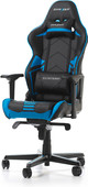 DXRacer RACING PRO Gaming Chair Zwart/Blauw