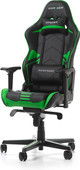 DXRacer RACING PRO Gaming Chair Zwart/Groen