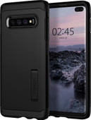 Spigen Tough Armor Samsung Galaxy S10 Plus Back Cover Zwart