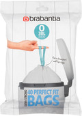 Brabantia Garbage bags Code O - 30 Liter (40 pieces)