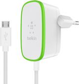 Belkin Thuislader 12W + vaste Micro-Usb Kabel Wit 1,2m
