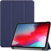 Just in Case Book case Tri-Fold Smart Apple iPad Pro 11 pouces (2018) Bleu