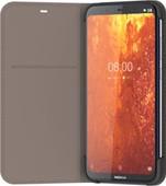 Nokia 8.1 Slim Flip Book Case Gris