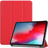 Just in Case Smart Tri-Fold Book case Apple iPad Pro 11 pouces Rouge