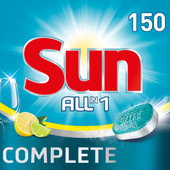 Sun Dishwashing tablets All-in-1 Lemon - 150 pieces