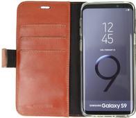Valenta Booklet Classic Luxe Book Case Galaxy S9 Brun