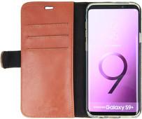 Valenta Booklet Classic Luxury Galaxy S9 Plus Book Case Brown