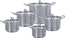 BK Q-linair Master Glass Cookware Set 5-piece