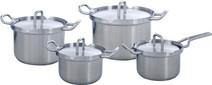 BK Q-Linair Master Cookware Set 4-piece