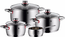 WMF Quality One Ensemble de 4 casseroles avec poêlon