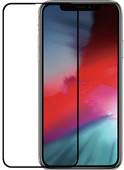 Azuri Gehard Glas Apple iPhone Xs Max/11 Pro Max Screenprotector Glas Zwart