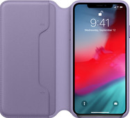 Apple iPhone Xs Max Leather Folio Lilac