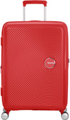 American Tourister Soundbox Expandable Spinner 67cm Coral Red