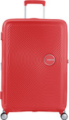American Tourister Soundbox Expandable Spinner 77cm Coral Red