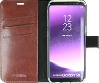 Valenta Booklet Gel Skin Samsung Galaxy S8 Book Case Brown
