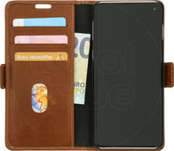 DBramante1928 Copenhagen Samsung Galaxy S10 Book Case Brown