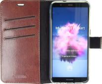 Valenta Booklet Gel Skin Book case Huawei P Smart Brun