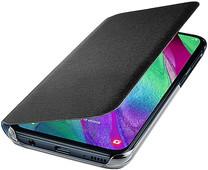 Samsung Galaxy A40 Wallet Cover Book Case Zwart