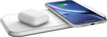 ZENS Dual Chargeur sans fil 10 W Blanc