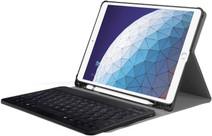 Just in Case Premium Apple iPad Air (2019) Bluetooth Toetsenbord Hoes Zwart AZERTY