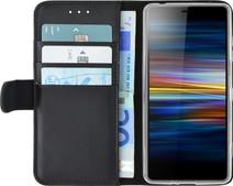 Azuri Wallet Book Case Magnétique  Sony Xperia L3 Noir