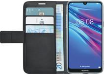 Azuri Wallet Magneet Huawei Y6 (2019) Book Case Zwart