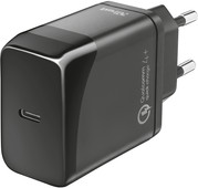 Trust Velox18 Oplader zonder Kabel Usb C 18W Power Delivery 3.0 + Quick Charge 4+ Zwart