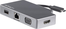 Startech Usb-C naar HDMI, VGA en Usb-A Converter 95W PD